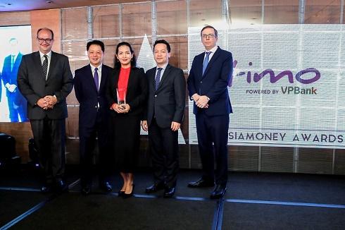 Timo Digital Bank nhận giải thưởng  Ngân hàng Kỹ thuật số tốt nhất Việt Nam năm 2019