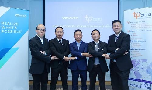 Tpcoms cung cấp Dịch vụ Đám mây của VMware (VCPP) đầu tiên tại Việt Nam