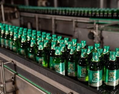 Sabeco đầu tư nâng công suất sản xuất của các nhà máy bia