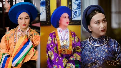 """Hóa """"Tứ giai Thục tần"""" trong Phượng Khấu, Hoa hậu Diễm Châu khiến fan phấn khích"""
