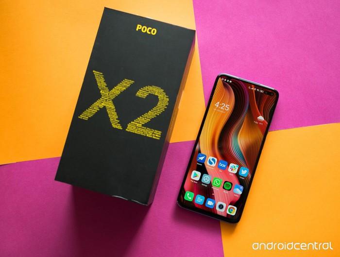 Poco X2 ra mắt: màn hình 120Hz, Snapdragon 730G, giá từ 225 USD