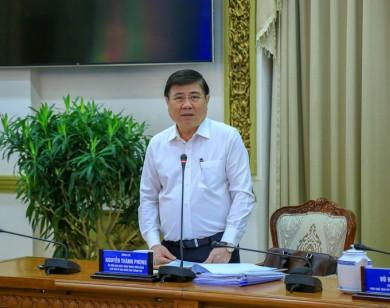Chủ tịch UBND TP Hồ Chí Minh nổi giận vì sự máy móc của các sở ngành