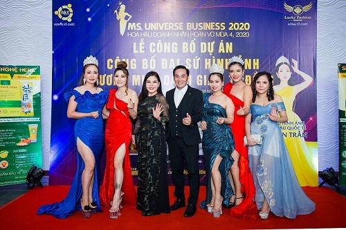 Ms Universe Business 2020 chính thức khởi động tại Myanmar
