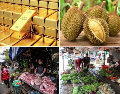 Tiêu dùng trong tuần: Giá vàng, thịt heo giảm mạnh; trong khi giá rau và trái cây đồng loạt tăng