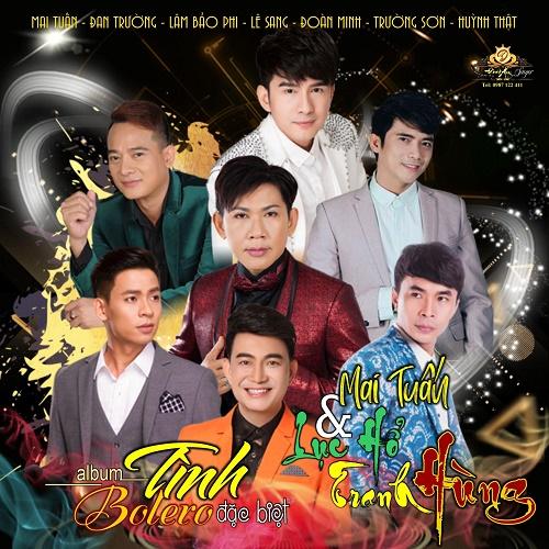 Ca sĩ thầy giáo Mai Tuấn song ca cùng 6 soái ca bolero trong Album sắp phát hành