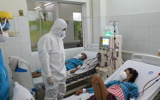 13 bệnh nhân Covid-19 nặng, nguy kịch, nhiều ca phải thở máy, ECMO