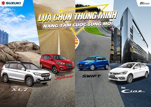 Suzuki mang đến những lựa chọn thông minh để nâng tầm cuộc sống
