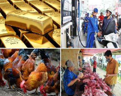 Tiêu dùng trong tuần: Giá vàng, thực phẩm đồng loạt giảm sâu