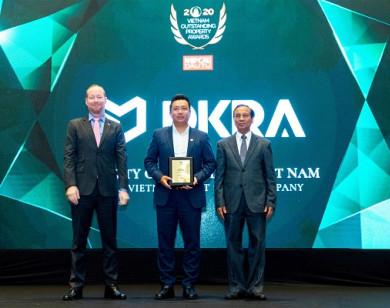DKRA Vietnam lập kỉ lục 4 năm liên tiếp là Nhà phân phối Bất động sản tiêu biểu