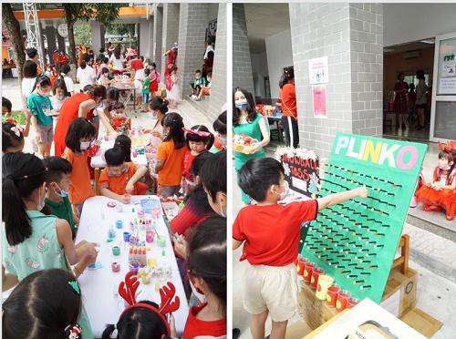 Hội chợ Giáng sinh từ thiện năm 2020 tại Trường Quốc tế Singapore Nam Sài Gòn – Nơi hạnh phúc được sẻ chia