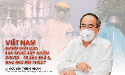 Việt Nam đang trải qua làn sóng lây nhiễm Covid-19 lần thứ 3, bao giờ kết thúc?