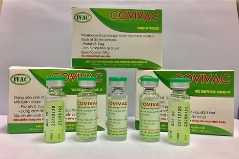 Hôm nay 15/3, Việt Nam chính thức tiêm thử nghiệm lâm sàng vắc xin COVIVAC phòng COVID-19