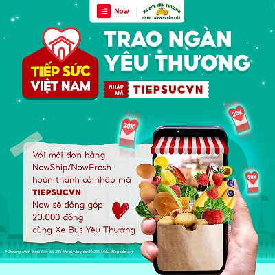 """Chương trình """"Tiếp Sức Việt Nam - Trao Ngàn Yêu Thương"""" mang 2.000 phần quà đến với hoàn cảnh khó khăn"""